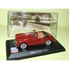 DINKY TOYS 35A MODELLAUTO CAR MB304 Collector Box von 6 Simca 5