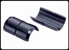REVERSE Reduzierstück Ø31.8mm auf 25.4mm (Schwarz) für Lenker oder Vorbau