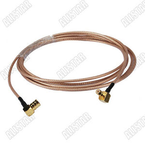SMB Male to Female RA Pigtail Cable for XM Sirius 40cm RF Radio Extension Cable