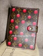 RARE MINT Authentic LOUIS VUITTON CHERRY CERIES 6 RING AGENDA PLANNER W/REFILL