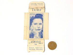 Original Carreras Turf Brand Card Radio Celebrities No. 18 Beryl Orde w/ Tabs