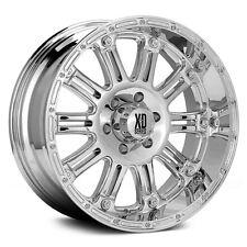 "XD Hoss Chrome 18"" Wheels W/ 33x12.50x18 Nitto Tires"