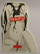 Sexy Girl Sticker Anime Manga Waifu Decal Skate Board Phone Laptop