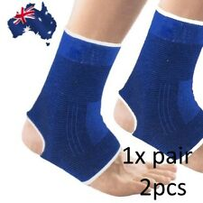1 Pair ANKLE Foot Protection Brace Guard Sports Support Breathable Gym