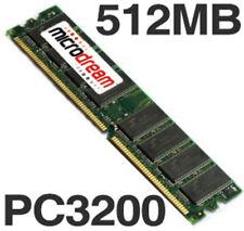 512MB PC3200 400MHz DDR 184Pin NON-ECC Desktop PC Memory RAM