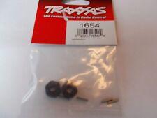 TRAXXAS 1654 WHEEL HUB, Hex (2) Stub AXEL PINS (2)
