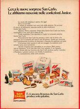 Pubblicità Advertising Werbung 1972 SAN CARLO Junior (2)