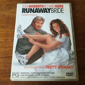 Runaway Bride Julia Roberts DVD R4 Very Good FREE POST