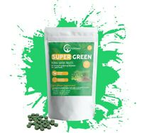 Super Greens   Body Detox   Complete Nutrient Superfood   60 Wellbeing Tablets