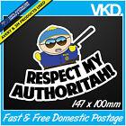 South Park Sticker/Decal - Drift Turbo Police JDM Cartoon Vinyl Cop Eric Cartman