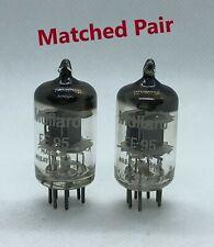 EF95 M8100 CV4010 6AK5 Mullard matched pair 2 pieces NOS tube valves