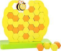Stapelspiel Geschicklichkeitsspiel Biene Holz