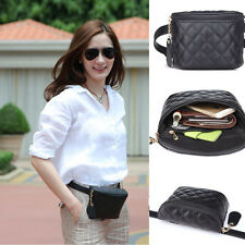 New Women's PU Waist Pack Quilted shopping guide Bag Pouch Purse Cellphone Pouch