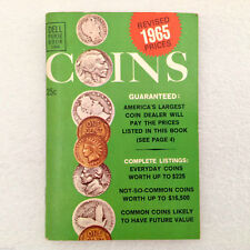 VTG Dell Purse Book #1308 COINS REVISED 1965 PRICES coin dealer pd pricing G VTG