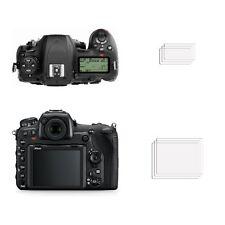 2 ULTRA TRANSPARENTES HD protectores de pantalla anti-rayadura cubierta para Nikon D500