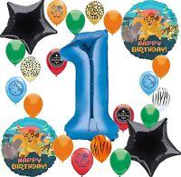 Lion Guard Party Supplies Happy Birthday Balloon Decoration Bundle (1st Birth...