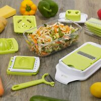 5 Blade Mandoline Food Slicer Cutter Fruit Vegetable Chopper Grater Peeler Dicer