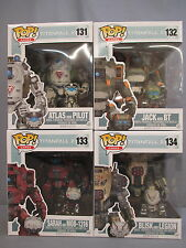 Funko Lot Titanfall 2 Set w/ ATLAS and PILOT 131 Gamestop Exclusive POP Figures
