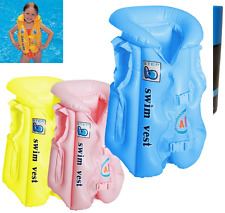 Baby Swimming Vest Seat ,Infant Inflatable Aid Trainer (50cmx43cm)