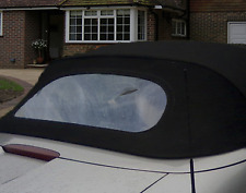 TRIUMPH STAG SOFT TOP CRYSTAL HOOD PLASTIC CONVERTIBLE REAR WINDOW