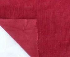 Cord Westfalenstoff Babycord kirschrot 90 cm breit Ökotex 25 cm