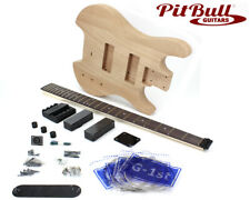 Pit Bull Guitars SHB-4 Headless Electric Bass Guitar Kit