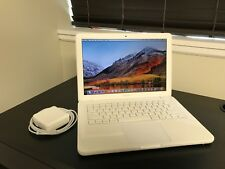 "Apple MacBook White 13""  New 500GB HDD 2.40 GHz 4GB RAM LATEST OS 2017 + Extras"