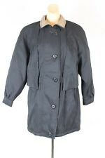 Forecaster of Boston Womens Winter Coat Jacket Size XS Black Zip Button Up (CL)