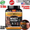 Advanced Whey Protein Powder Body Fortress Super, Gluten Free, Chocolate, 5 lbs