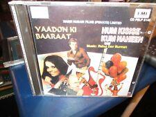 1983 RAHUL DE BURMAN Yaadon Ki Baarat +Hum Kisise Kum Haheen India CD VG+/NM