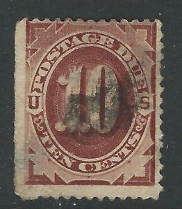Bigjake: J19, 10 cent Postage Due