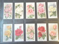 1926 Wills ROSES flowers garden plants Tobacco cards complete EX.  50 card set