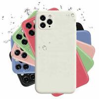 Genuine Liquid Silicone Soft Case for iPhone 11 Pro Max SE 2020 XS XR 7 8 Cover