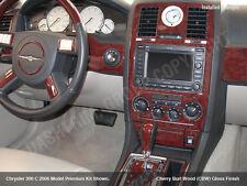 WOOD CARBON ALUMINUM DASH TRIM KIT FITS CHRYSLER 300 300C HEMI 2005 2006 2007