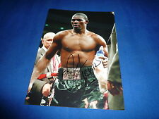 JERMAIN TAYLOR signed autograph 6x8 (15x21cm) In Person BOXING CHAMPION