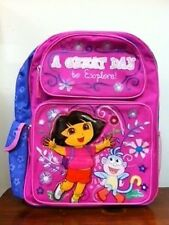 """Dora 16"""" inches BackPack """" A Great Day to Explore"""" for Kids - BRAND NEW"""