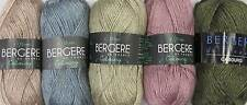 BERGERE DE FRANCE CABOURG YARN - VARIOUS SHADES - 50g BALLS