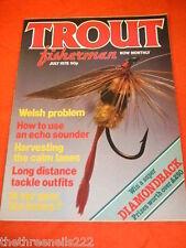TROUT FISHERMAN - USE AN ECHO SOUNDER - JULY 1978