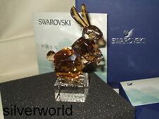 "SWAROVSKI CHINESE ZODIAC GOLDEN RABBIT- LTD 2011 "" Golden Rabbit"" - NIB"