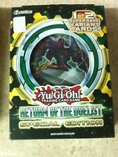 YuGiOh Return of the Duelist Special Edition SE Factory Sealed Deck/Box English