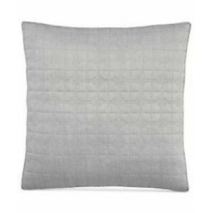 Hotel Collection Modern Plaid Quilted Euro Pillow Sham