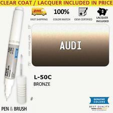 Wheelrim L 50c Touch Up Paint For Audi Na Bronze Pen Stick Scratch Chip Fix
