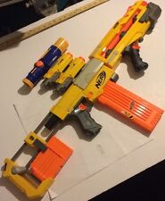 Nerf Recon CS-6 Epic Combo Dart Gun 2 Laser Tactical Sight Longshot Front Gun