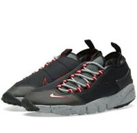 MENS NIKE AIR FOOTSCAPE NM Black & Wolf Grey Trainers size UK 7 ~ 10