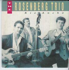 ROSENBERG TRIO Rio Ancho 2 tr CARDslv CD SINGLE DINO HOLLAND GYPSY JAZZ