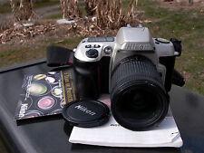 Nikon AF Zoom Nikkor 28-80mm F:3-5.6D & N60 Tested working Nikon 1 yr. warranty