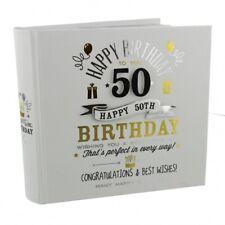 Signographie 50th Geburtstagsgeschenk Fotoalbum - Herren`S / Damen `S