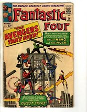Fantastic Four # 26 FN Marvel Comic Book Thing Dr. Doom Human Torch Thor FH2