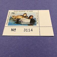 1987 Delaware State Duck Stamp, Mint Og/Nh.