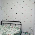 21 Pcs Little Cloud Wall Stickers Kids Room Removable Pvc Vinyl Decal Home Decor